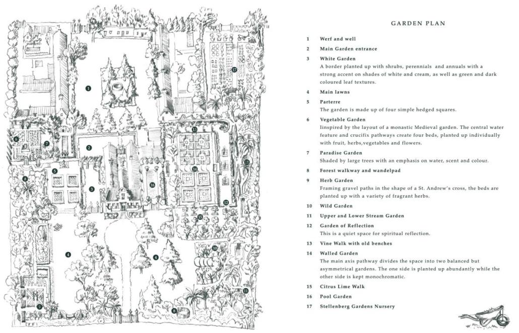 The Stellenberg Garden Plan