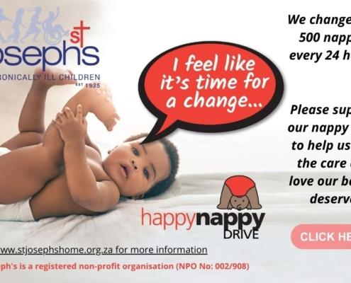 St Joseph's Happy Nappy Drive